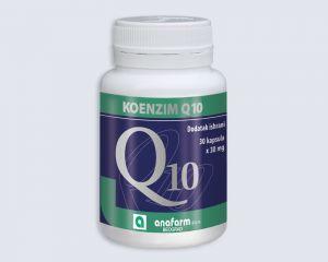 KOENZIM Q10, 30 mg ANAFARM