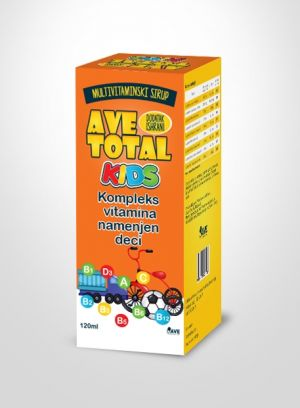 AVE TOTAL KIDS SIRUP 120ML