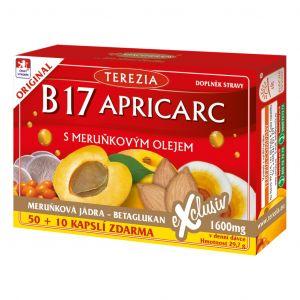 VITAMIN B17 APRICARS 60 CAPS
