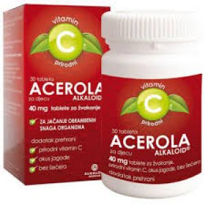 ACEROLA PLUS VIT.C 40MG TBL A100