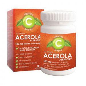 ACEROLA 180 mg ALKALOID