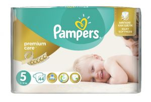 PAMPERS PELENE 5 PREMIUM CARE 44 KOMADA