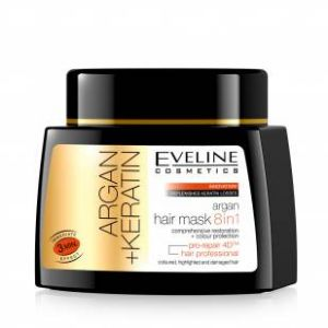 EVELINE HAIR ARGAN MASK8U1 500ML