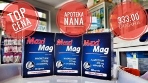 MAXI MAG KAPSULE 30X375 mg