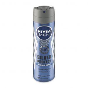 NIVEA DEZODORANS SILVER PROTECT POLAR BLUE 82843