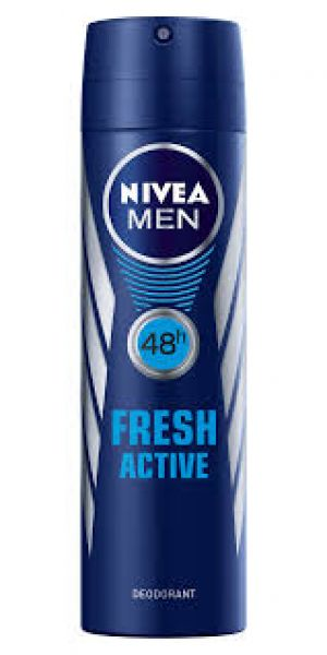 NIVEA MEN DEZODORANS FRESH ACTIVE 150ML 81600