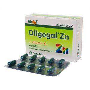 OLIGOGAL ZN+VIT C CPS A 30